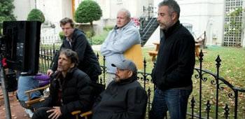 Billede fra optagelserne til 'House of Cards'