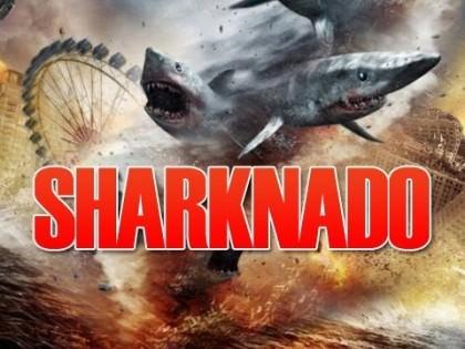 Kultfilmen 'Sharknado' på Netflix