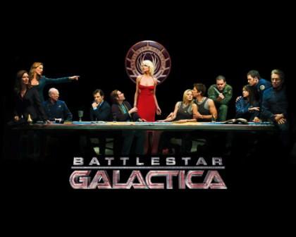 Verdens bedste sci-fi serie 'Battlestar Galactia'