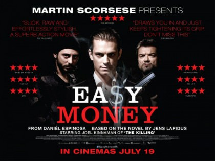Svensk biografhit 'Easy Money' på Netflix
