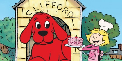 Clifford – Den store røde hund på Netflix