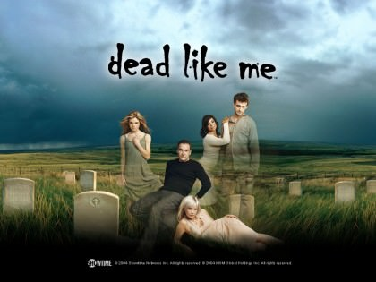 "Sort humor i serien ""Dead Like Me"""