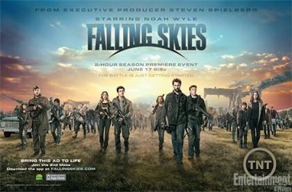 2. sæson af 'Falling Skies' nu på Netflix