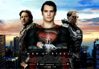 Superheltefilmen 'Man of Steel' nu på Netflix