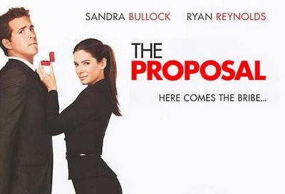 Sandra Bullock og Ryan Renolds i 'The Proposal'