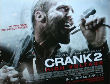 Drengerøvsfilmen 'Crank: High Voltage' på Netflix