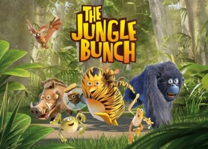 Animationsfilmen 'The Jungle Bunch: The Movie'