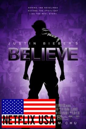 Kom tæt på Justin Bieber i 'Believe' på Netflix USA