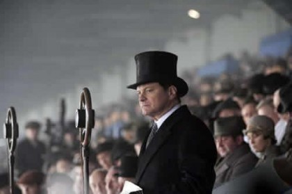 Billede fra filmen The Kings Speech