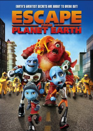 Animationsfilmen 'Escape from Planet Earth'