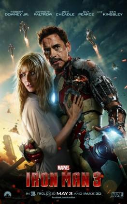 Actionbraget 'Iron Man 3' nu på Netflix
