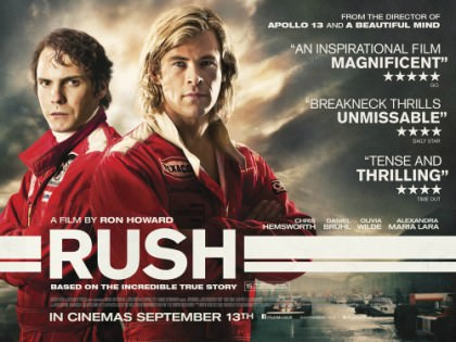 Ron Howards fantastiske film 'Rush' på Netflix