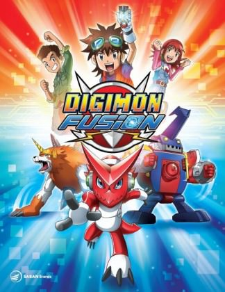 Den japanske animations-serie 'Digimon Fusion'