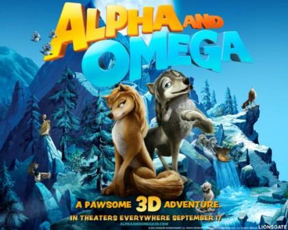 Den animerede familiefilm 'Alpha & Omega'