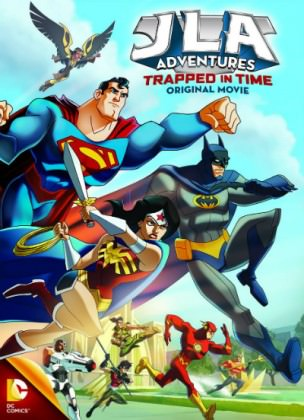 Superhelte action i 'JLA Adventures: Trapped in Time'