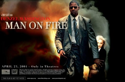 Denzel Washington er 'Man On Fire' på Netflix