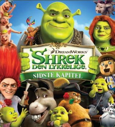 Shrek, Fiona og Æsel er tilbage i 'Shrek 4'