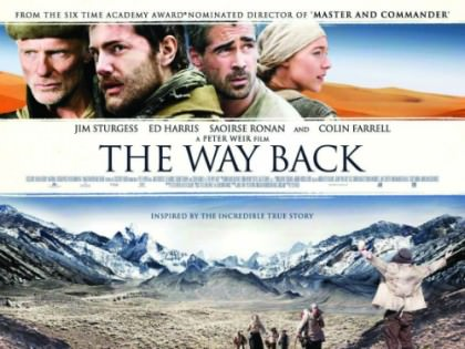 Peter Weir storfilm 'The Way Back' på Netflix