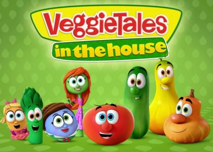 Nyhed til familiens yngste: 'VeggieTales In The House'