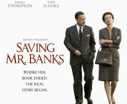 Saving Mr. Banks med Tom Hanks og Emma Thompson