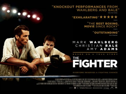 Wahlberg og Bale i 'The Fighter' på Netflix