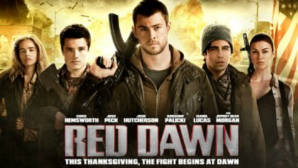 Den amerikanske actionfilm 'Red Dawn' på Netflix