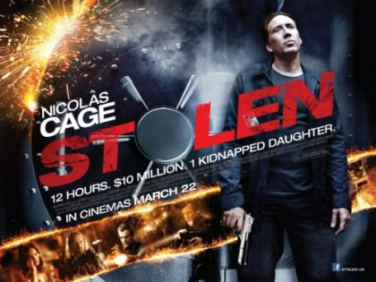 Nicolas Cage i actionfilmen 'Stolen'