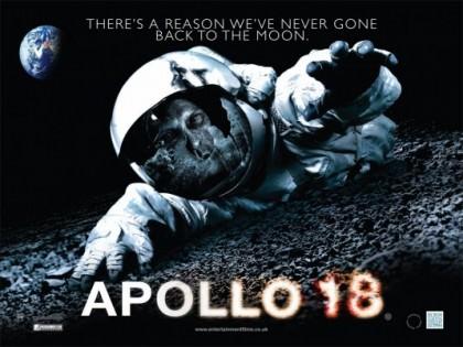 Den amerikanske science fiction 'Apollo 18' på Netflix