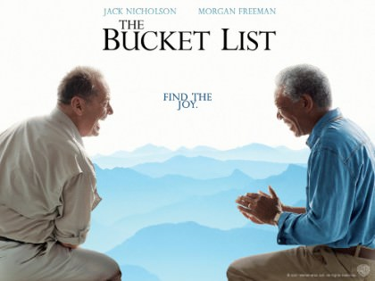 Nicholson og Freeman i 'The Bucket List' på Netflix