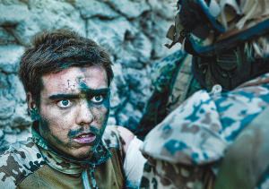 Billede fra dokumentarfilmen Armadillo