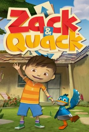 Nickelodeon-serien 'Zack & Quack' på Netflix