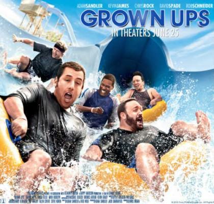 Grown Ups – Drengerøve på Netflix