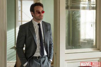 Den blinde advokat Matt Murdocks (Charlie Cox). Billede fra Marvel.com