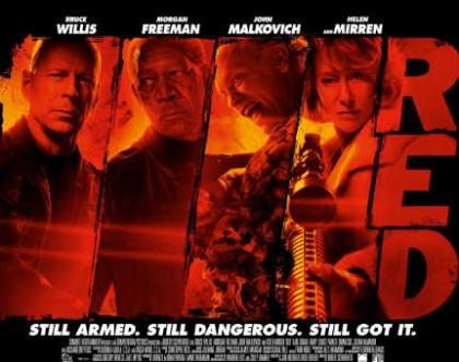 Red – stjernespækket actionbrag på Netflix