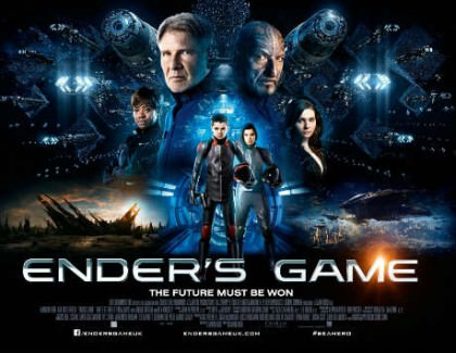 Ender's Game med Harrison Ford og Ben Kingsley