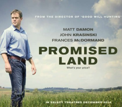 Promised Land med Matt Damon på Netflix