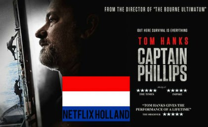 Captain Phillips med Tom Hanks på Netflix NL
