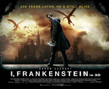 I, Frankenstein med Aaron Eckhart på Netflix