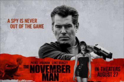 The November Man på Netflix Belgien