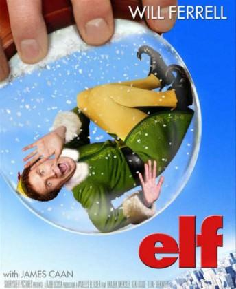 Julekomedien Elf på Netflix