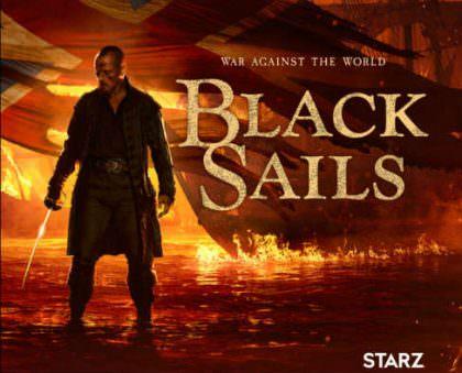 Black Sails sæson 3 på Netflix