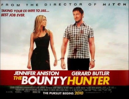 The Bounty Hunter med Jennifer Aniston og Gerard Butler
