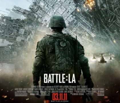Battle: Los Angeles med Aaron Eckhart