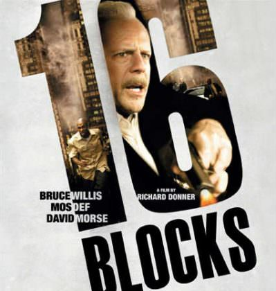 16 Blocks med Bruce Willis