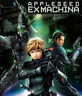 Appleseed Saga: Ex Machina på Netflix