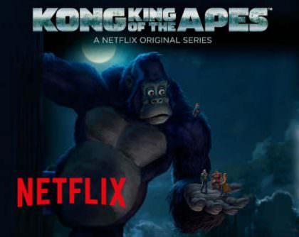 Kong – King of the apes på Netflix