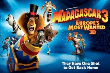 Madagascar 3 – Efterlyst I Hele Europa