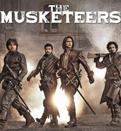The Musketeers sæson 3 på Netflix