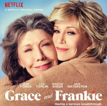 Grace and Frankie sæson 3 på Netflix
