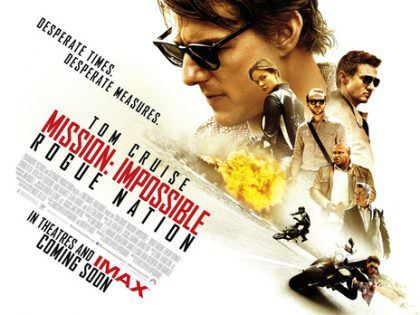 Mission Impossible 5 – Rouge Nation på Netflix Canada
